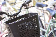 Stato di Tigre Buenos Aires/Argentina 06/17/2014 Gruppo di biciclette in Tigre Buenos Aires Argentina immagini stock libere da diritti