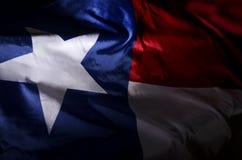 Stato il bandiera-Texas immagine stock