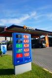 Statoil bensinstation royaltyfria bilder