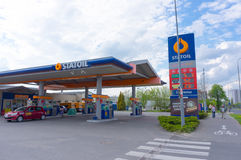 Statoil filling station Royalty Free Stock Images