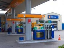 Statoil filling station Royalty Free Stock Photography