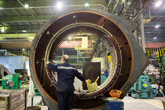 Free Stator Of A Big Electric Motor Stock Photo - 62026330