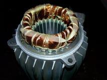 Statore con la bobina di un motore elettrico Immagini Stock