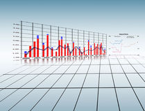 Stats. Finance diagram stats,business concept Royalty Free Stock Photography