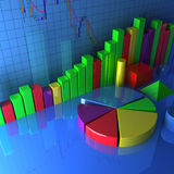 Stats and Figures Stock Images