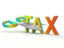 Stats- skatte- avkoppling - regnbågefärger vektor illustrationer