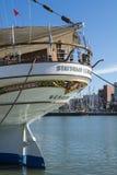 Statsraad Lehmkuhl moored in Helsinki Royalty Free Stock Photos