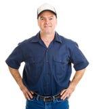 Stattliche Service-Arbeitskraft stockfoto