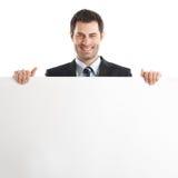 Stattlicher Geschäftsmann lizenzfreies stockbild