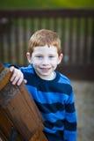 Stattlicher Junge stockfoto