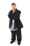 Stattlicher junger Geschäftsmann Stockbilder