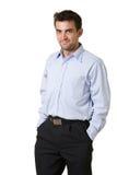 Stattlicher junger Mann Lizenzfreies Stockfoto