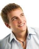 Stattlicher junger Mann Lizenzfreie Stockfotos