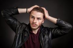 Stattlicher junger Mann Lizenzfreies Stockbild