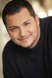Stattlicher Latinomann stockbilder