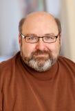 Stattlicher Mann im Vierzigerportrait Lizenzfreies Stockbild
