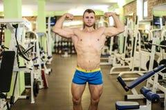 Stattlicher muskulöser Kerl Lizenzfreies Stockfoto
