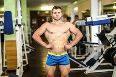 Stattlicher muskulöser Kerl Lizenzfreie Stockfotografie