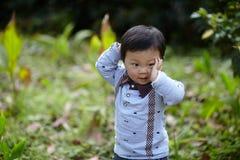 Stattliches Baby lizenzfreies stockfoto
