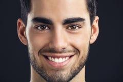 Stattliches Mannlächeln Stockfotos