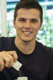 Stattliches Portrait des jungen Mannes Lizenzfreies Stockfoto