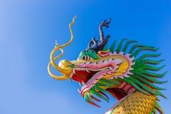 Statu hermoso del dragón Fotos de archivo