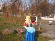 Statua Śnieżny biel Zdjęcie Royalty Free