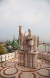 Statua Świątobliwy Stephen Ja w Budapest Zdjęcia Stock