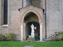 Statua święty Anthony Fotografia Royalty Free