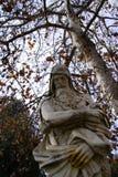 Statua στη βίλα comunale στοκ εικόνα με δικαίωμα ελεύθερης χρήσης