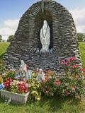 Statua 1 di Lourdes Fotografie Stock Libere da Diritti