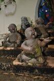 Statua abbandonata del Buddha Fotografia Stock
