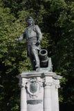 Statua Admiral Peter Tordenskjold w Oslo, Norwegia zdjęcia stock