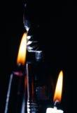 Statua africana Fotografie Stock