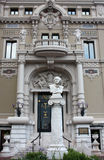 Statua al compositore francese Jules Emile Frederic Massenet immagini stock