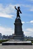 Statua al National Gallery del Canada, Ottawa, Canada fotografie stock