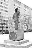 Statua al vigile del fuoco Fotografie Stock Libere da Diritti