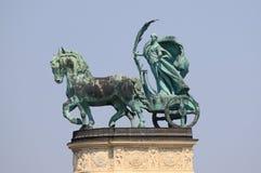 Statua allegorica di pace fotografia stock libera da diritti