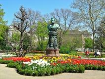 Statua Andreas Zelinka, Wiedeń, Austria Zdjęcie Royalty Free