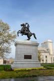 Statua Andrew Jackson w Nashville obrazy royalty free