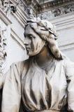 Statua angelica Fotografia Stock