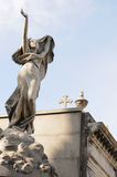 Statua angelica Fotografie Stock
