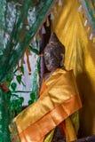 Statua Angkor Wat di Buddha. Tradizione, religione, cultura. La Cambogia Immagine Stock Libera da Diritti