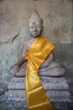 Statua Angkor Wat di Buddha. Tradizione, religione, cultura. La Cambogia Fotografia Stock Libera da Diritti