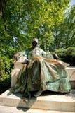 Statua Anonimowy w Budapest, w Węgry obrazy royalty free