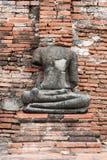 Statua antica del Buddha Immagini Stock