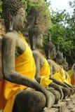 Statua antica del Buddha Fotografia Stock