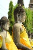 Statua antica del Buddha Immagine Stock Libera da Diritti
