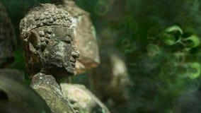 Statua antica di immagine di Buddha Fotografie Stock Libere da Diritti