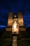 Statua antica in Sukhothai Fotografie Stock Libere da Diritti